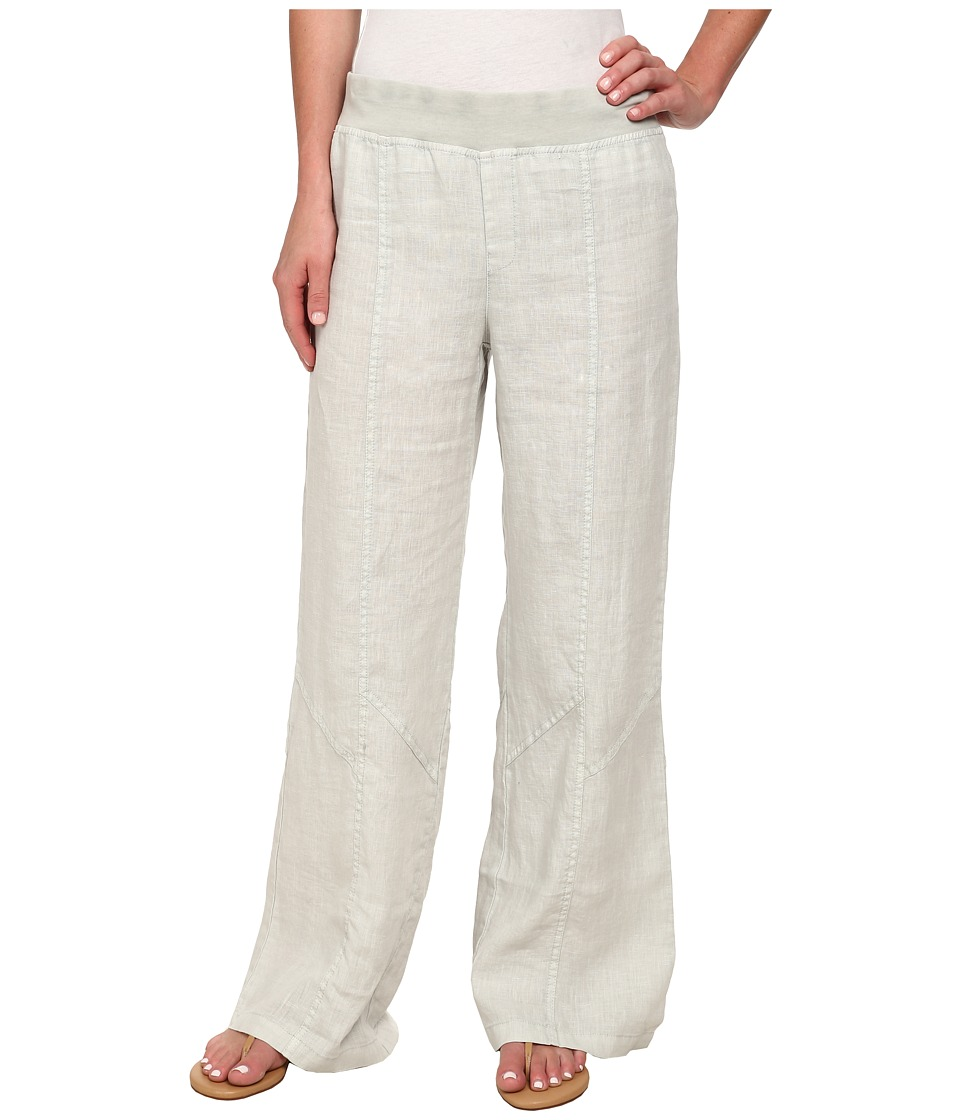 XCVI - Namak Linen Pants (Seagull) Women's Casual Pants