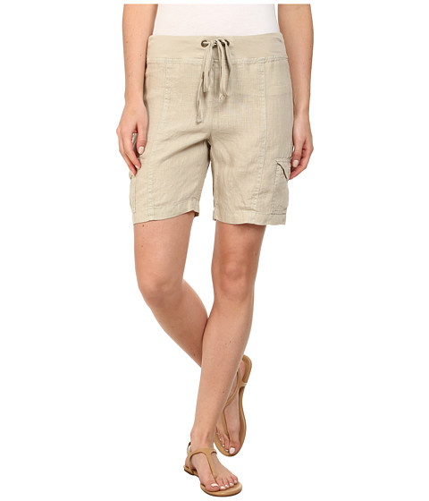 XCVI - Flint Two-Pocket Shorts (Sand Dollar) Women's Shorts