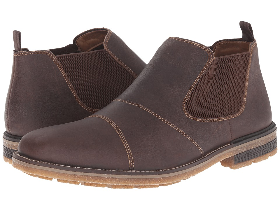 Rieker - F1380 (Kakao Limos/Brown Weaving) Men's Boots