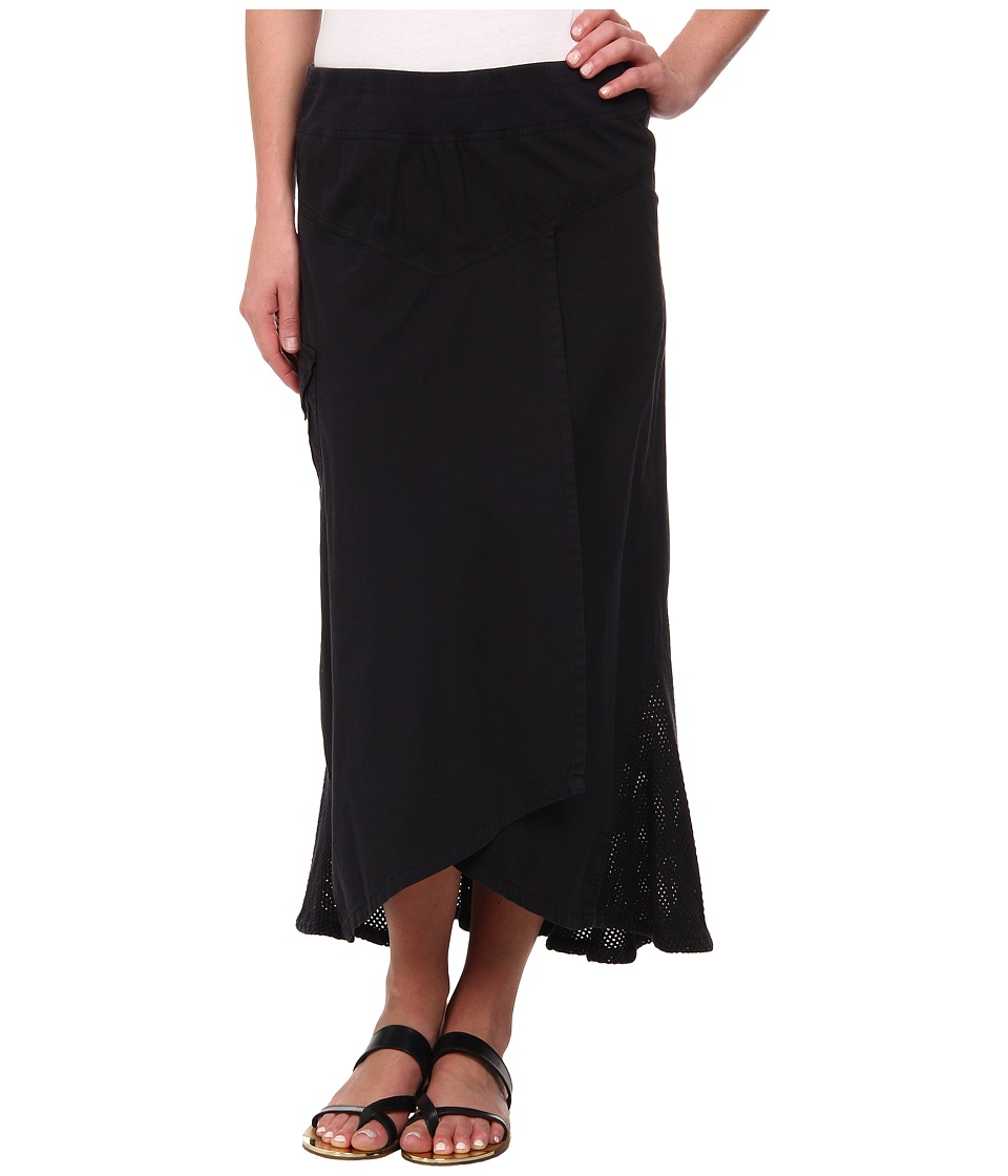 XCVI - Kestrel High-Low Skirt (Black) Women's Skirt