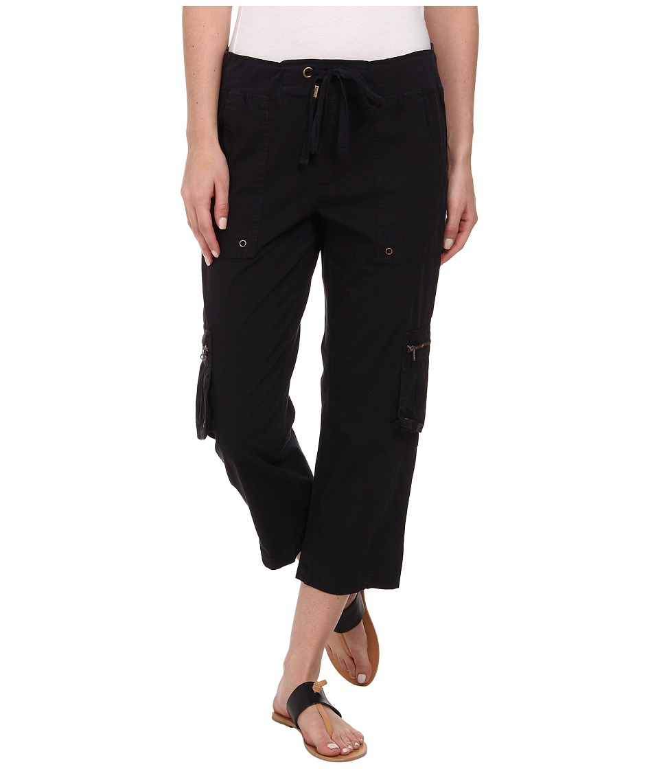 XCVI - Rhea Crop Pants (Black) Women's Casual Pants