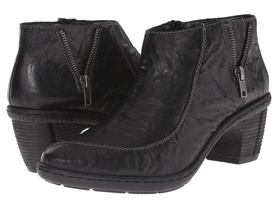 Rieker - 50253 (Black New Orleans) Women's Dress Boots