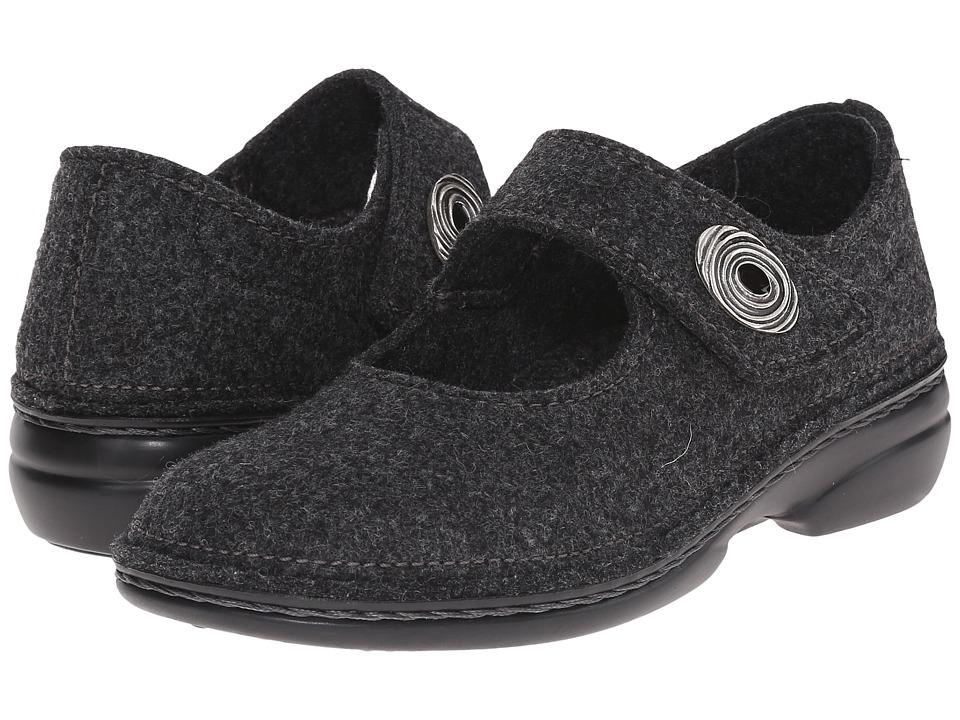 Finn Comfort - Ramsau (Grey Wollfilz) Women's Maryjane Shoes
