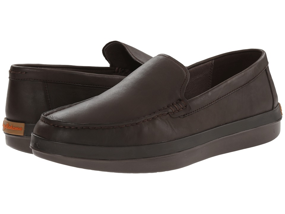 Tommy Bahama - Relaxology Reston (Dark Brown) Men's Slip on Shoes