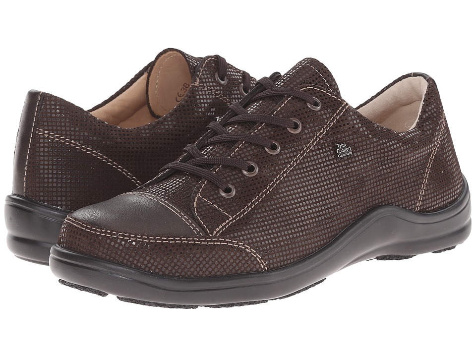 Finn Comfort Soho-S (Kaffee Points/Cigar Luxory) Women