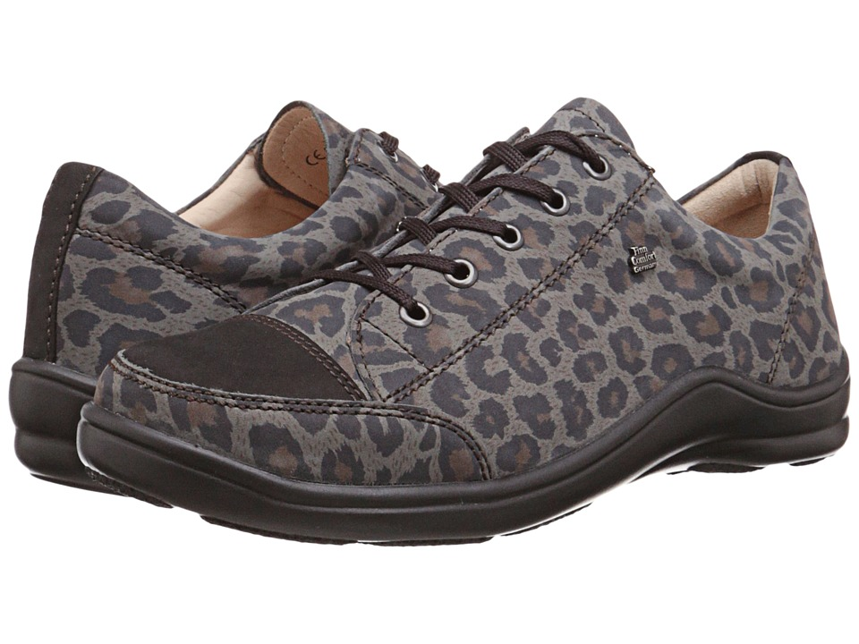 Finn Comfort - Soho (Animal Leo/Black Buggy) Women
