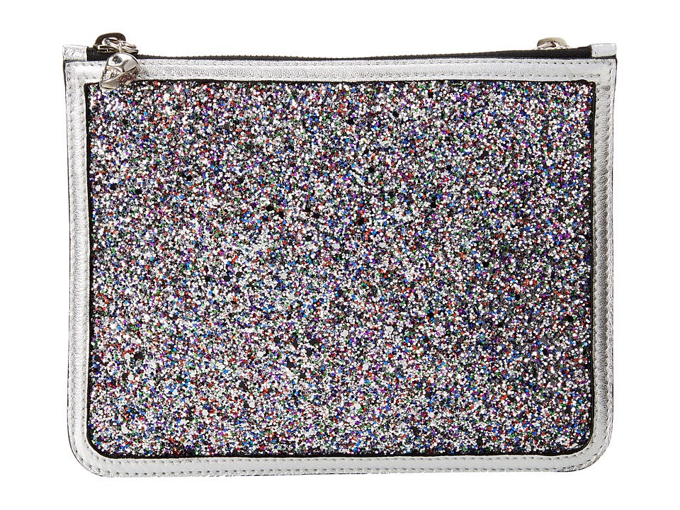 Alexander McQueen 327891KQE2N 8498 (Grey Multi) Cosmetic Case