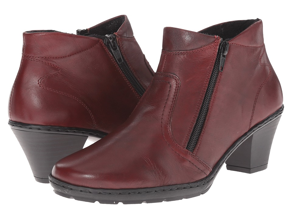 Rieker - 57181 (Medoc Cristallino/Burgundy Parma) Women's Dress Boots