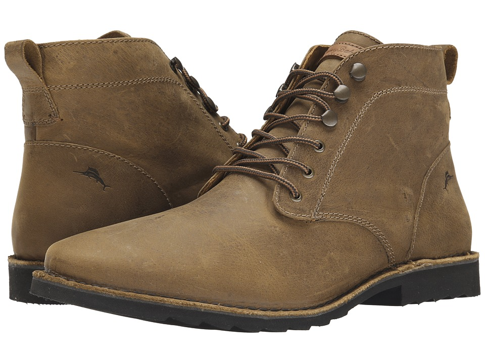 Tommy Bahama - Garrick (Tan) Men's Dress Lace-up Boots
