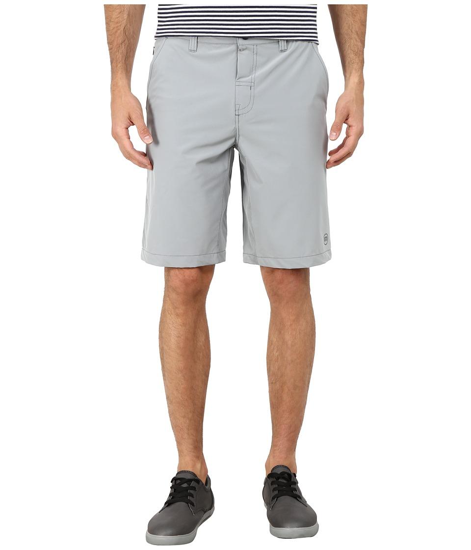 TravisMathew - RED Magoo Shorts (Monument) Men's Shorts