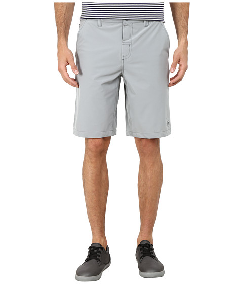 TravisMathew - RED Magoo Shorts (Monument) Men's Shorts