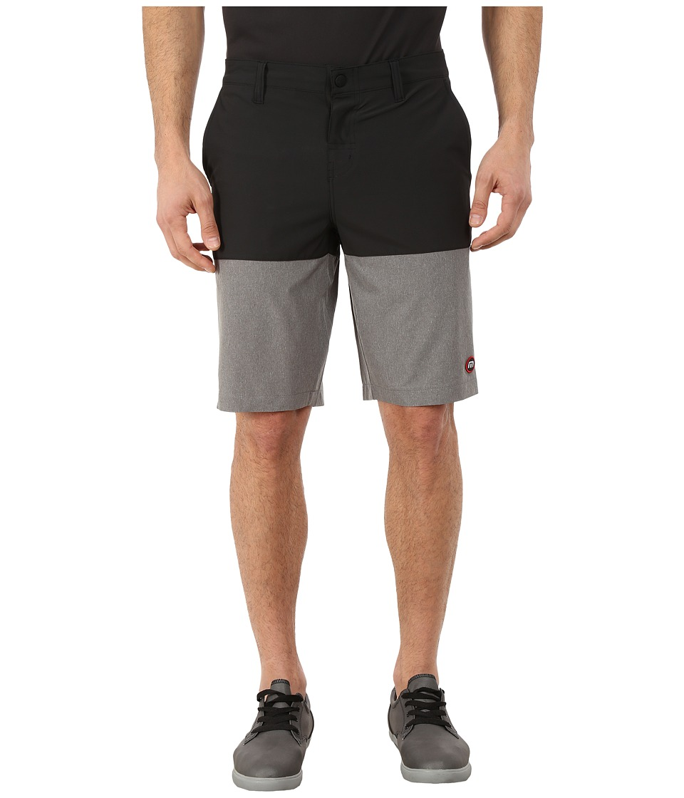 TravisMathew - RED Sparky Shorts (Black) Men's Shorts