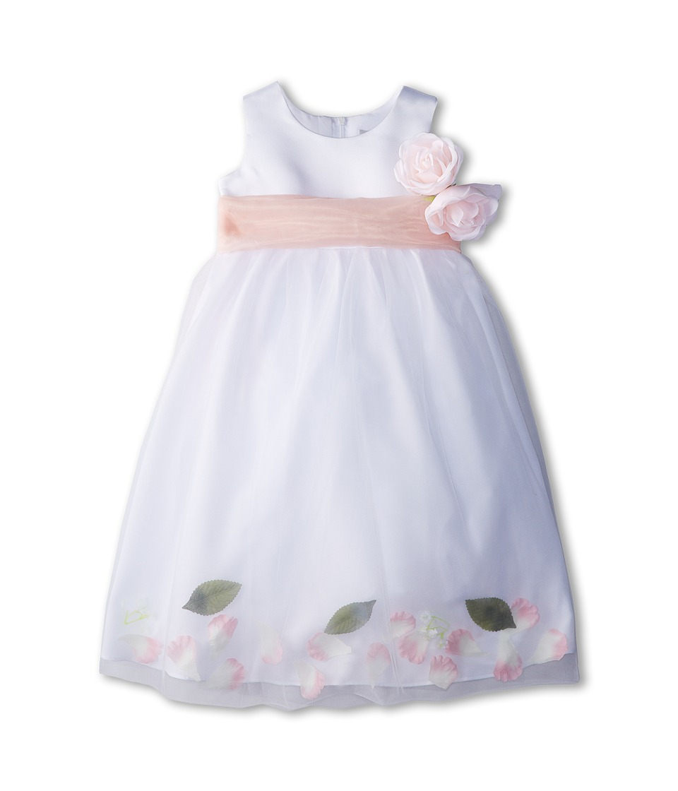 Us Angels - Sleeveless Petal Dress (Toddler) (Blush Pink) Girl's Special Occasion