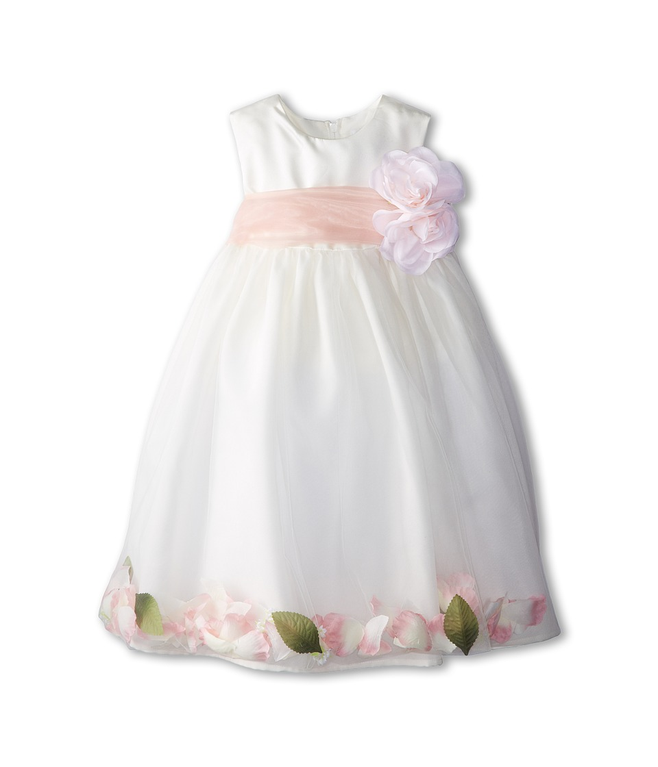 Us Angels - Sleeveless Petal Dress (Toddler) (Blush Pink 1) Girl's Special Occasion
