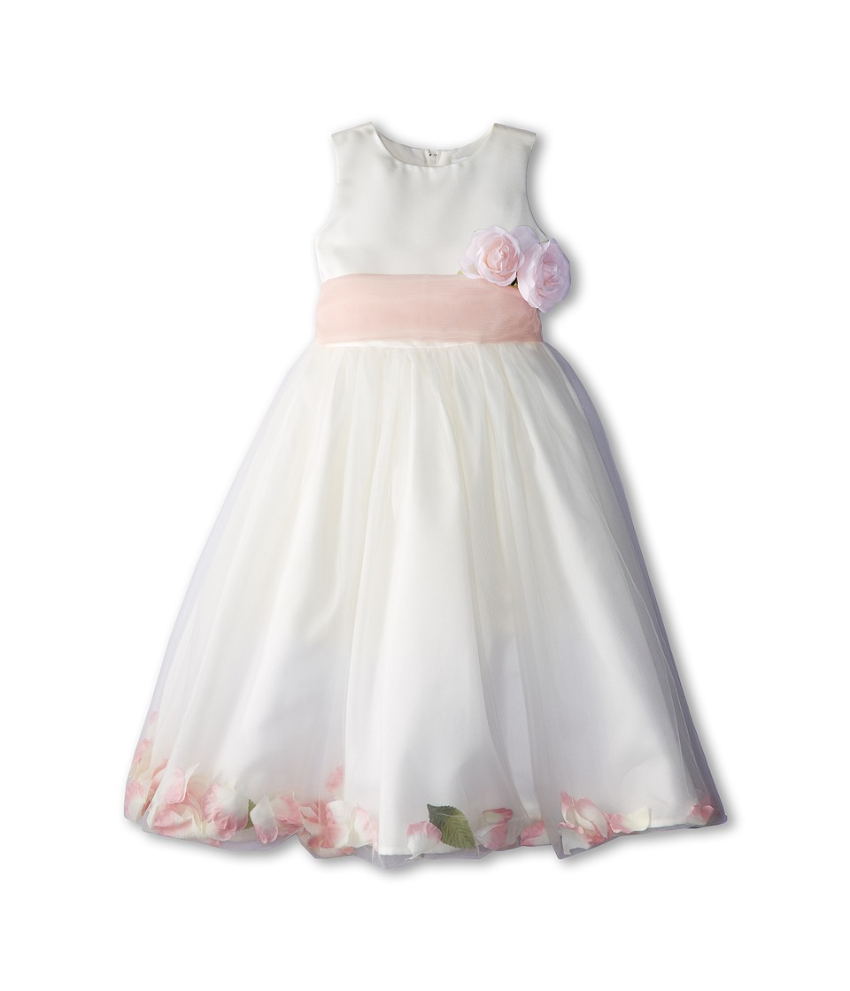 Us Angels - Sleeveless Petal Dress (Little Kids) (Blush Pink) Girl's Special Occasion