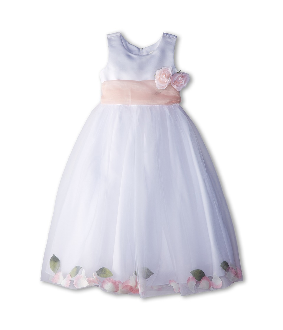 Us Angels - Sleeveless Petal Dress (Little Kids) (Blush Pink 1) Girl's Special Occasion