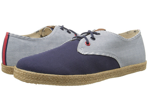 Ben Sherman - Jenson Lace-Up (Navy/Blue Stripe) Men's Lace up casual Shoes
