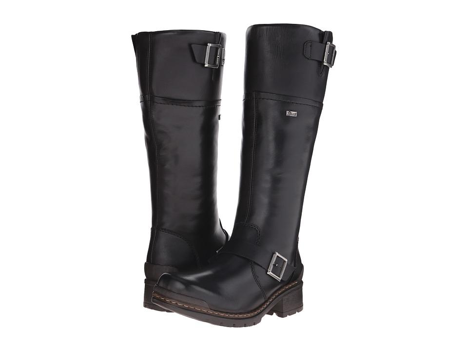 Rieker - 74385 Sylbille 85 (Black Cristallino/Black Fino) Women's Shoes