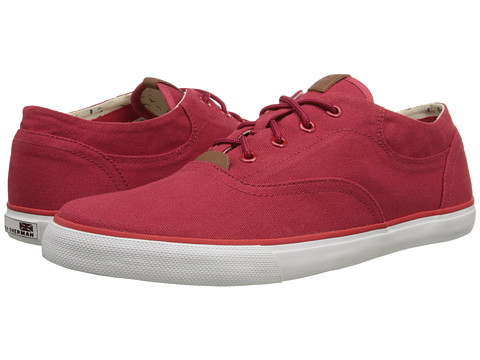 Ben Sherman - Stevie Canvas (Red) Men's Lace up casual Shoes