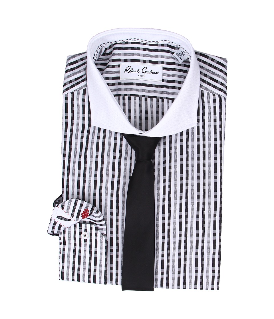 Robert Graham - Levittown Dress Shirt (Black) Men's Clothing