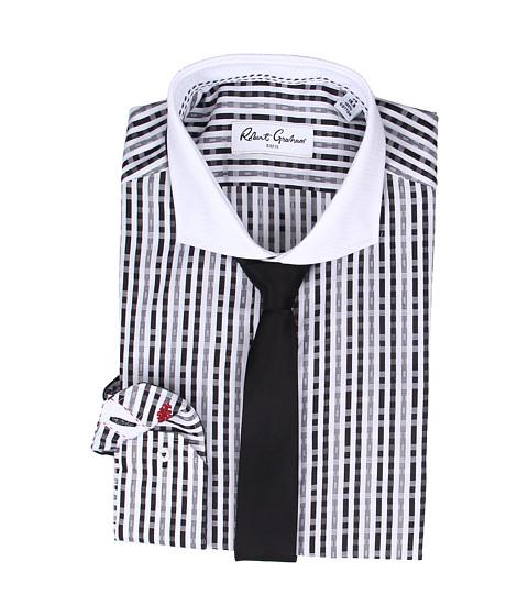 Robert Graham - Levittown Dress Shirt (Black) Men's Clothing