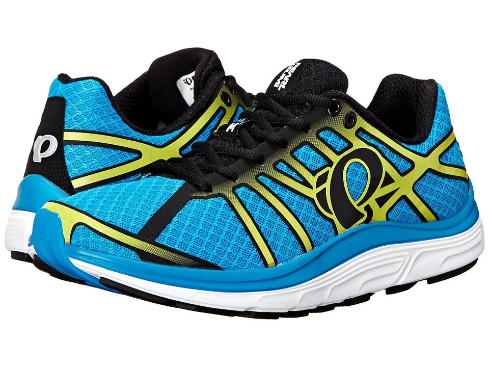 Pearl Izumi - EM Road M 3 v2 (Blue Methyl/Lime Punch) Men's Running Shoes