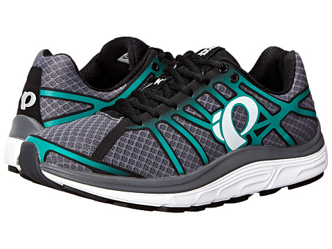 Pearl Izumi - EM Road M 3 v2 (Shadow Grey/Dynasty Green) Men's Running Shoes