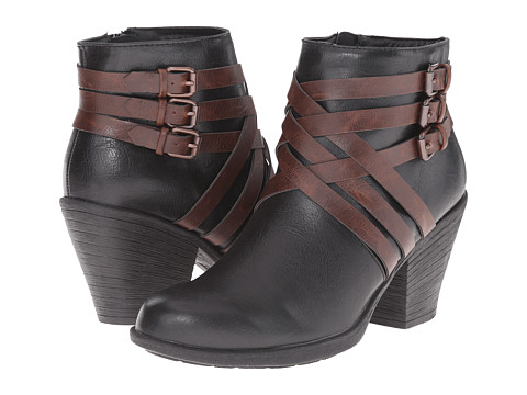 EuroSoft - Phoebe (Black/Coffee) Women's Shoes