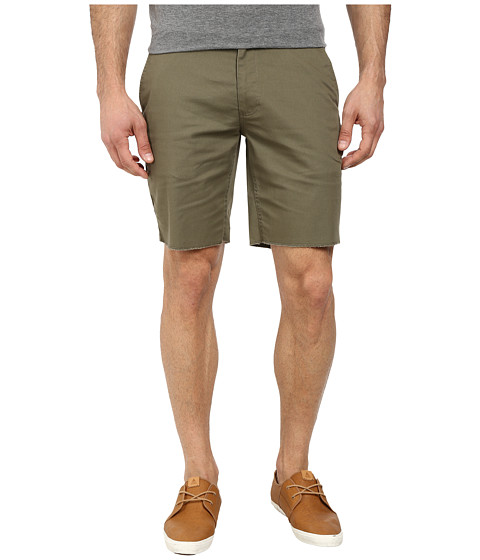 Brixton - Toil II Standard Fit Chino Shorts (Sage) Men's Shorts