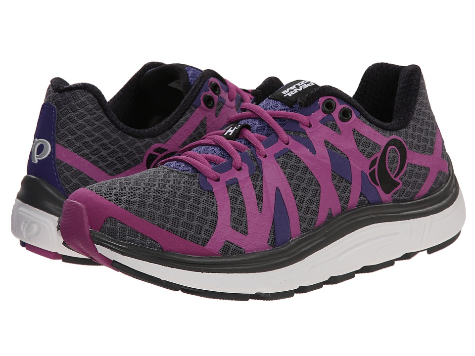 Pearl Izumi - EM Road H 3 v2 (Shadow Grey/Meadow Mauve) Women's Running Shoes