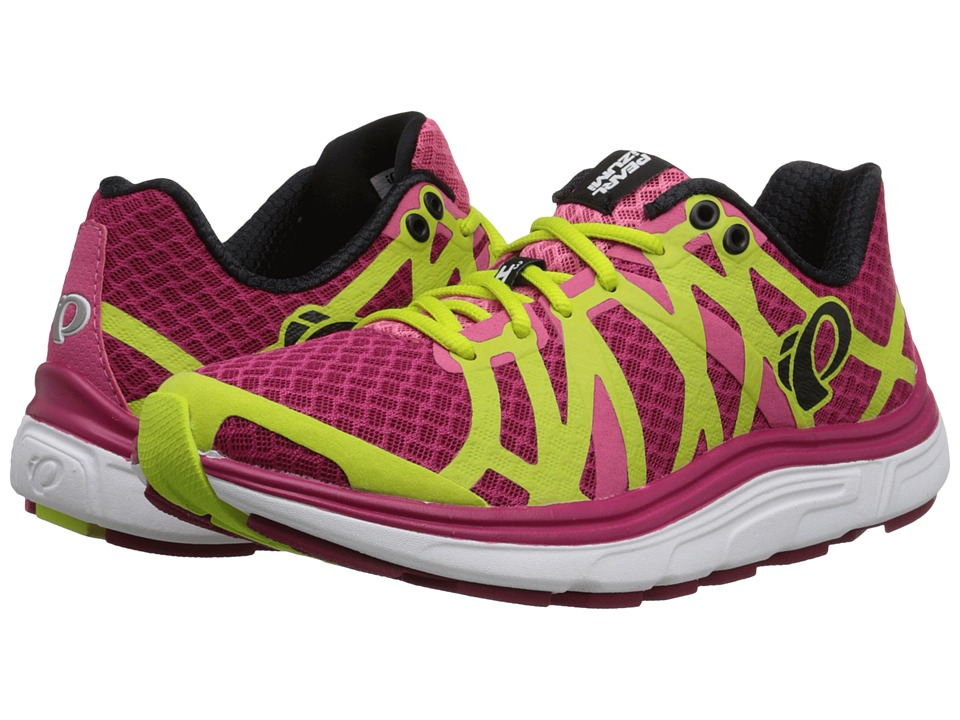 Pearl Izumi - EM Road H 3 v2 (Cerise/Honeysuckle) Women's Running Shoes