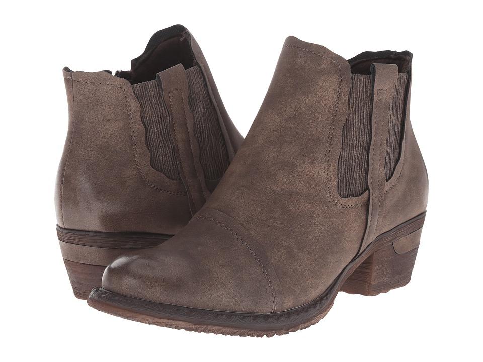 Rieker - 93480 (Fango Eider) Women's Dress Boots
