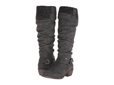 Rieker - 93756 (Cenere Nicaragua/Black/Grey Knitwear) Women