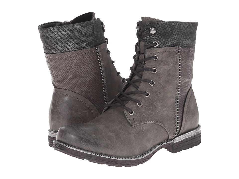 Rieker - 95424 (Stromboli Clyde/Stromboli Amphib/Granite Boccia) Women's Dress Boots