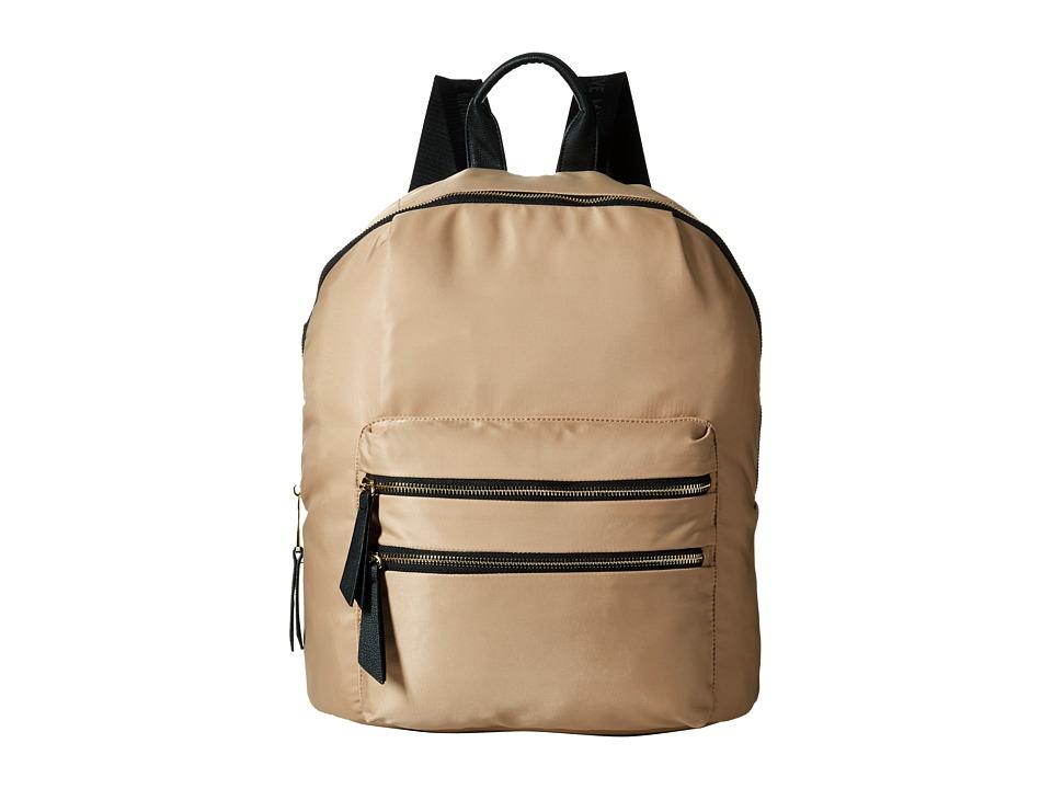 Steve Madden - Bprep Nylon Backpack (Khaki) Backpack Bags