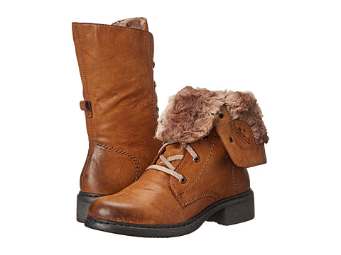 Rieker - Y3220 (Cayenne Eagle/Braun Ferret) Women's Dress Boots