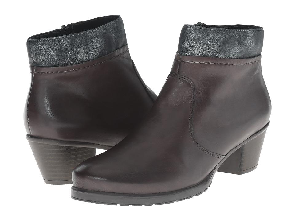 Rieker - Y0055 (Graphite Cristallino/Graphite Olymp) Women's Dress Boots