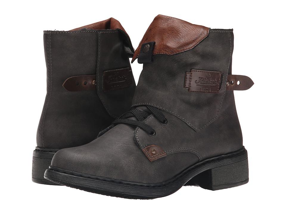 Rieker - Y3242 (Basalt Mendoza/Kastanie Ambor/Brandy Eagle) Women's Dress Boots
