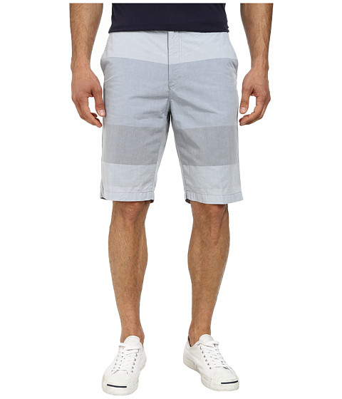 Calvin Klein - Engineered Color Block Shorts (Knight Blue) Men's Shorts