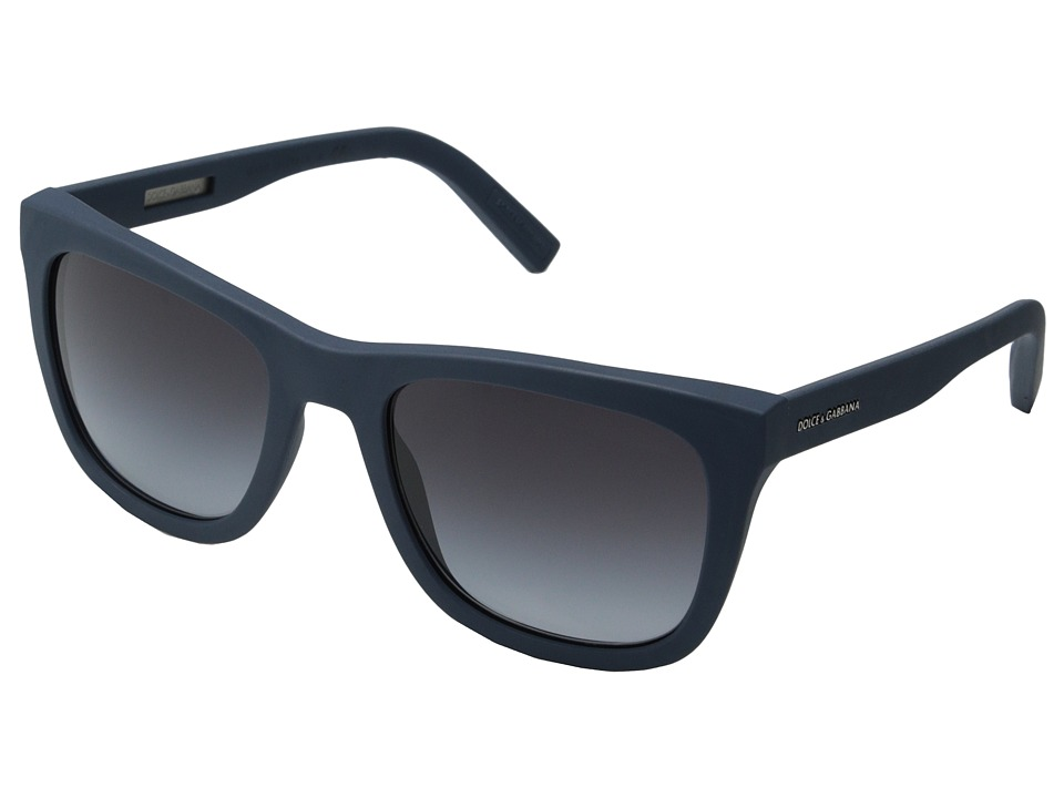 Dolce & Gabbana - DG2145 (Avio Rubber/Grey Gradient) Fashion Sunglasses