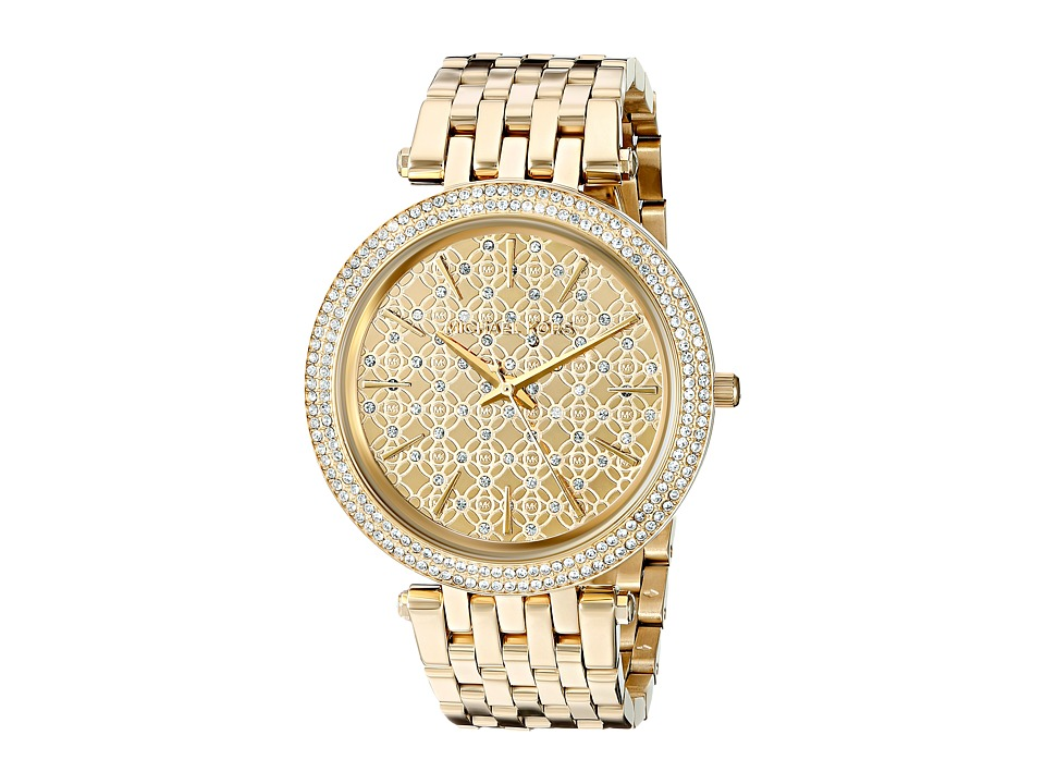 Michael Kors - MK3398 - Darci Logo (Gold) Watches