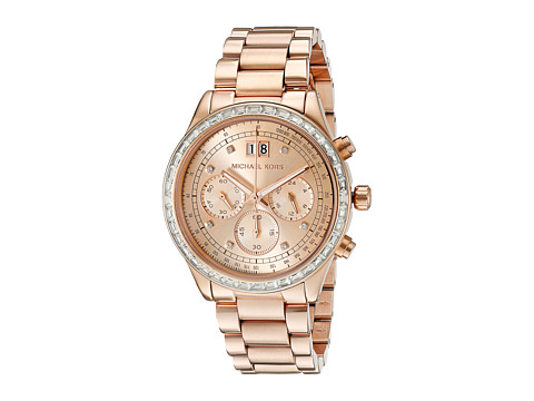 Michael Kors - MK6204 - Brinkley (Rose Gold) Watches