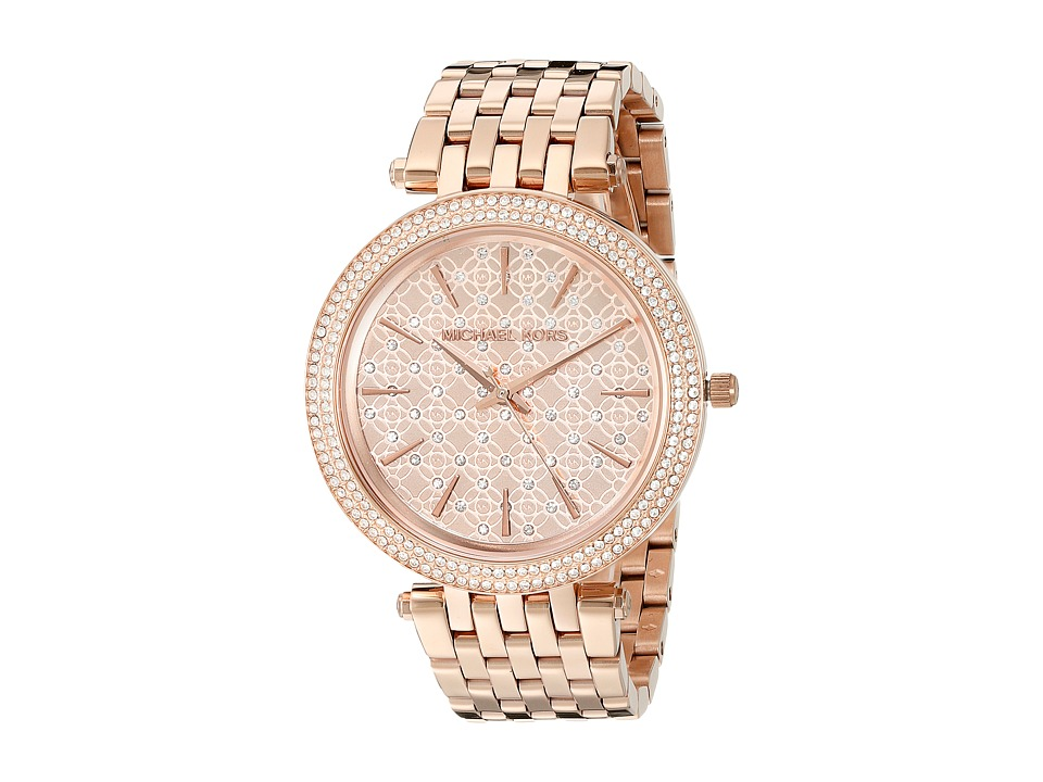 Michael Kors - MK3399 - Darci Logo (Rose Gold) Watches