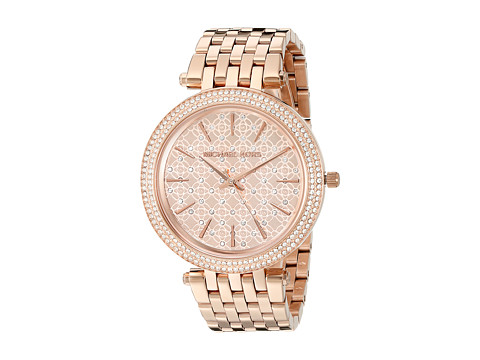 Michael Kors - MK3399 - Darci Logo (Rose Gold) Watches