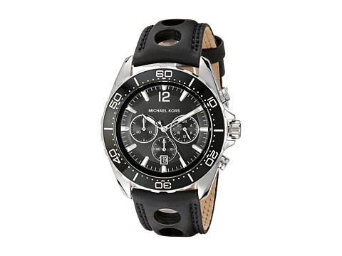 Michael Kors - MK8419 - Jetmaster (Silver/Black) Watches