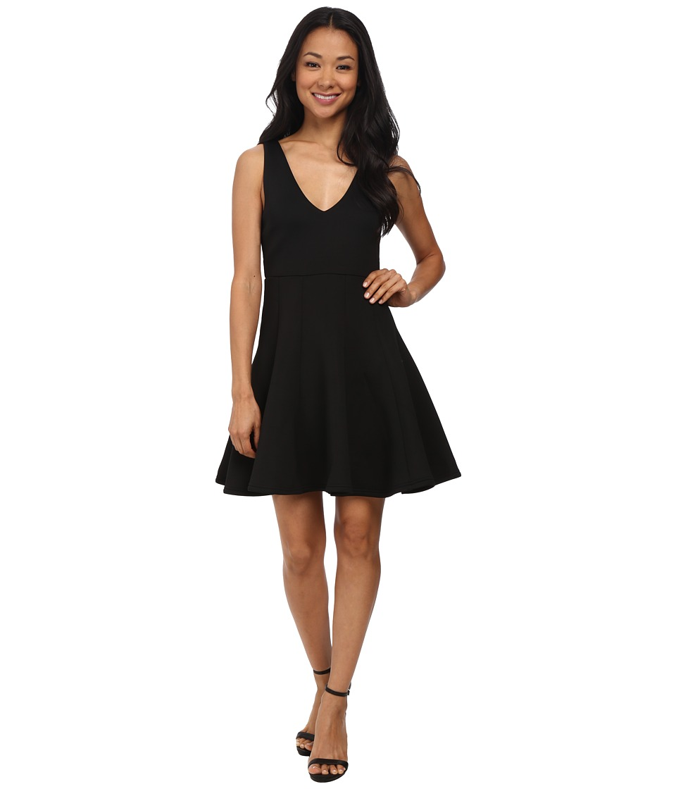 MINKPINK - Stagnant Jersey Dress (Black) Women
