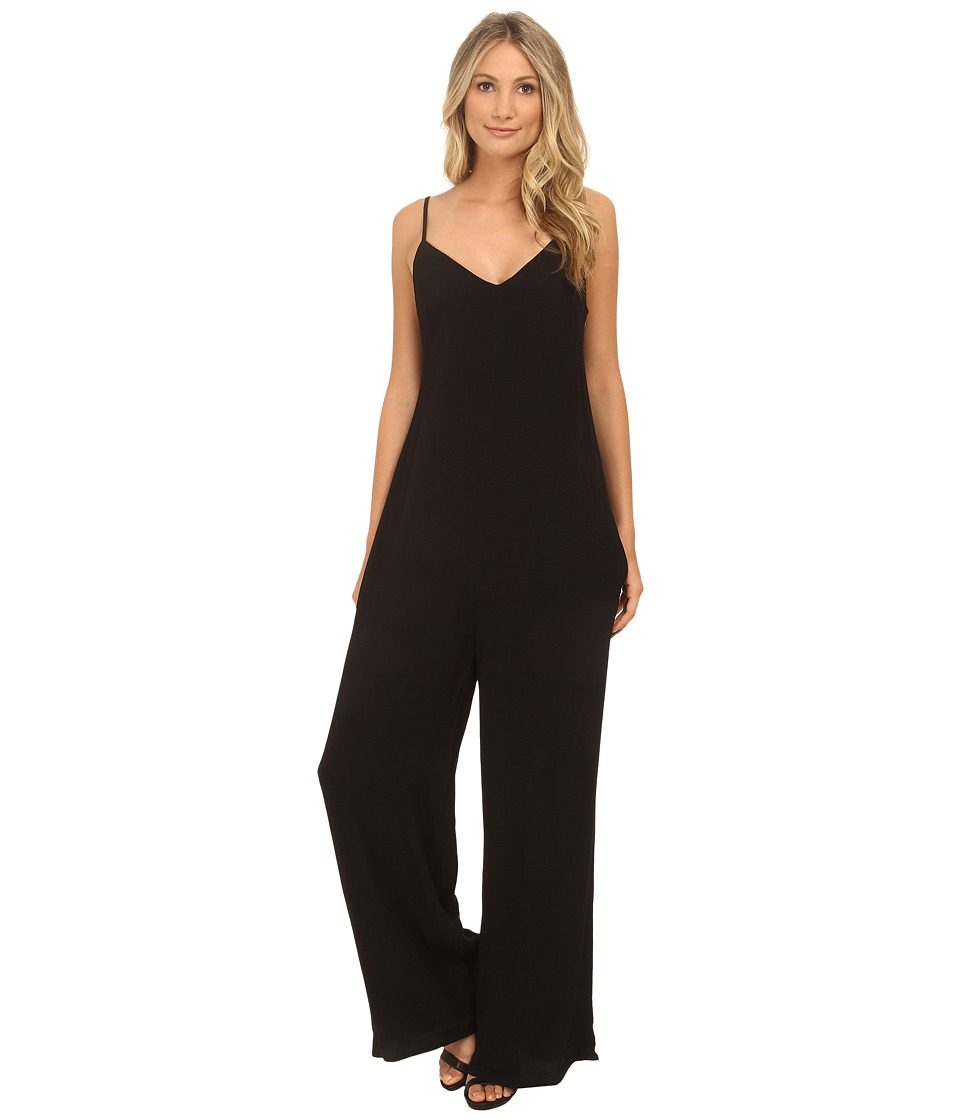 MINKPINK - Subletly Jumpsuit (Black/Natural) Women's Jumpsuit & Rompers One Piece