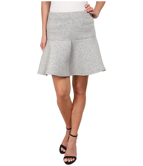 MINKPINK - Stagnant Jersey Skirt (Grey Marle) Women's Skirt