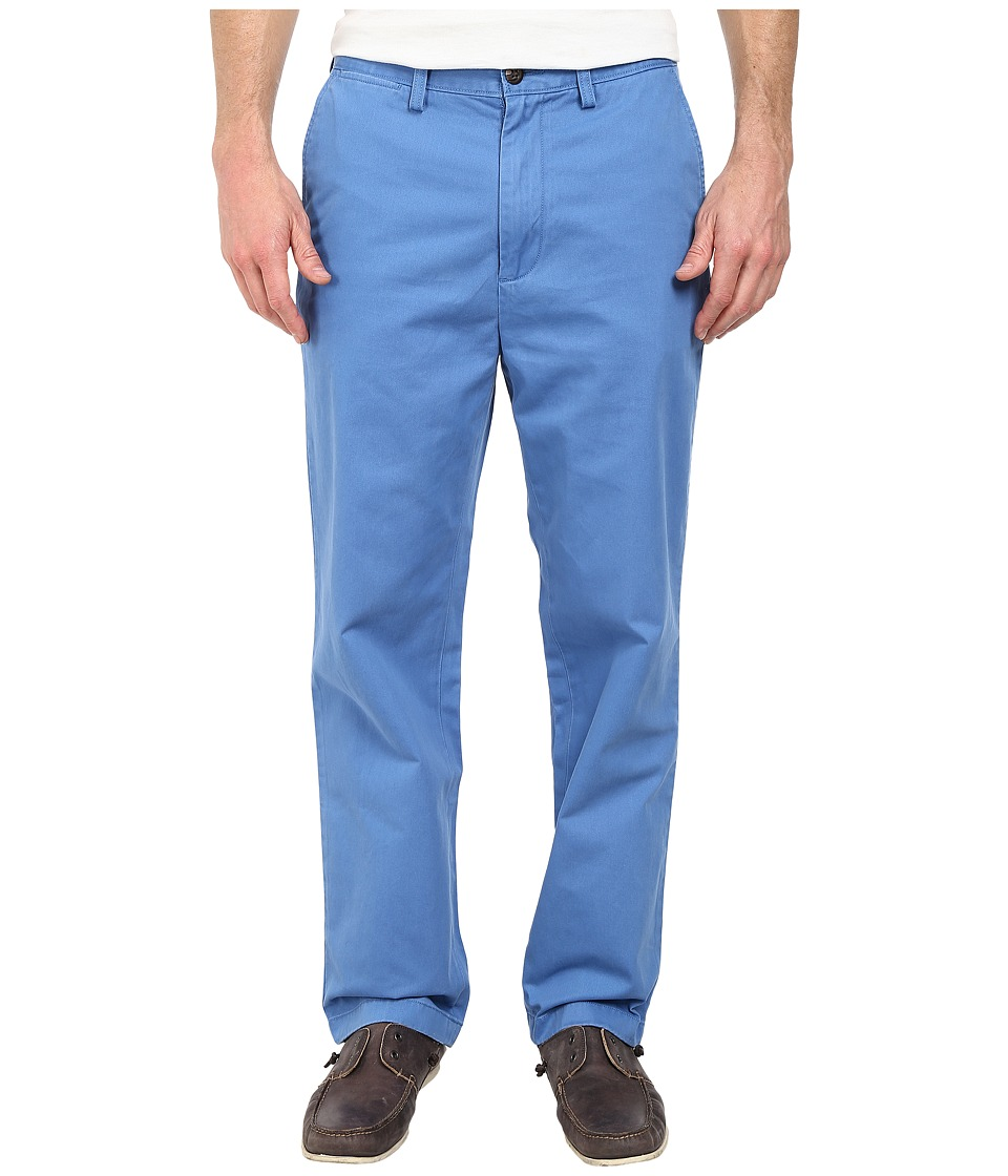 Nautica - Classic Flat Front Pants (Star Sapphire) Men's Casual Pants