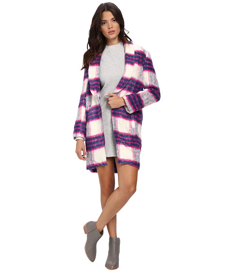 MINKPINK - Rule Breaker Coat (Multi Pink) Women's Coat